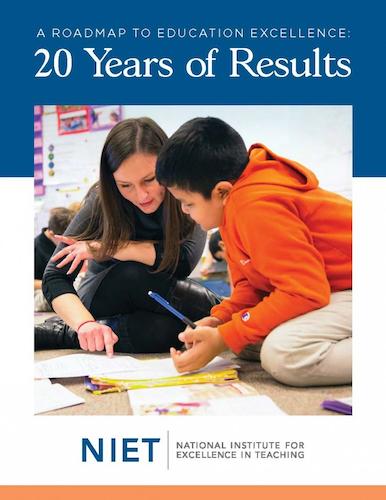 20th anniversary magazine cover NIET