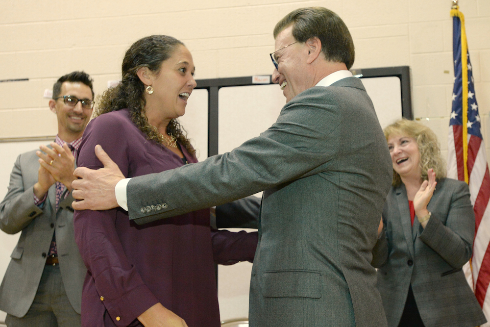 TAP Master Teacher Aimee Schade Wins IN Milken Educator Award